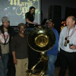 Jim Beam & Maxim Mardi Gras on Bourbon St. w/ Rebirth Brass Band : New Orleans