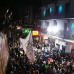 Jim Beam & Maxim Mardi Gras on Bourbon St. w/ Rebirth Brass Band : New Orleans